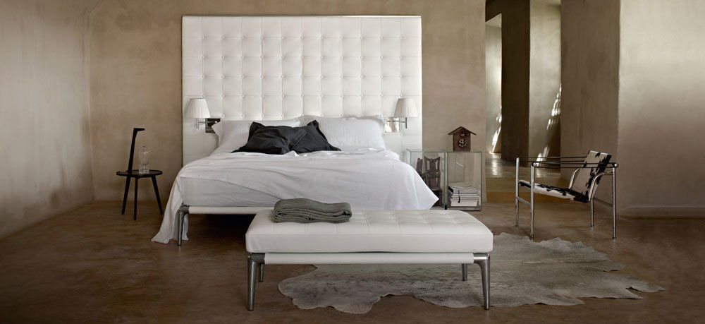 Double Beds Bed Volage By Cassina