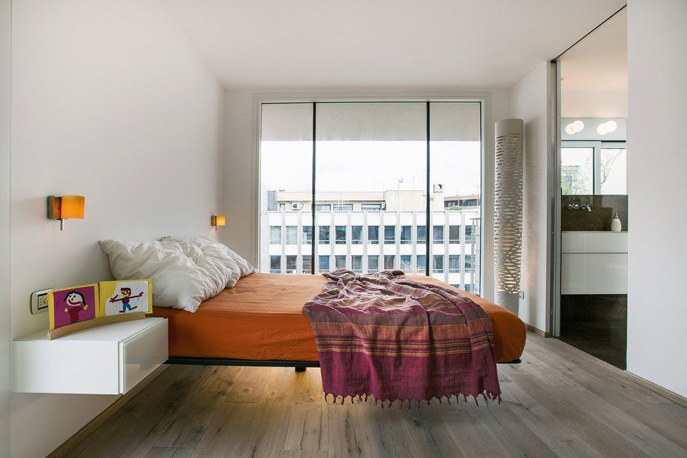 Double Beds: Bed Fluttua by Lago