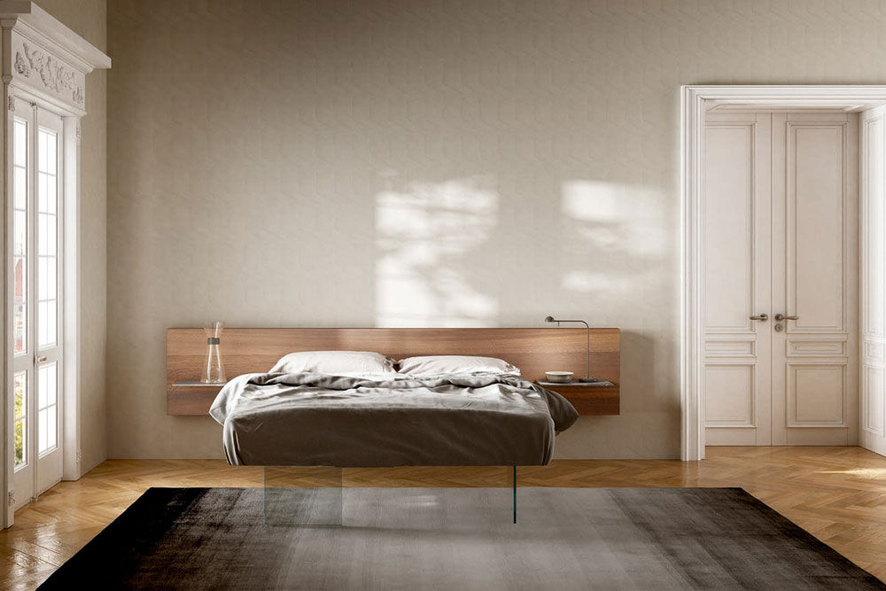 Double Beds: Bed Air Wildwood by Lago