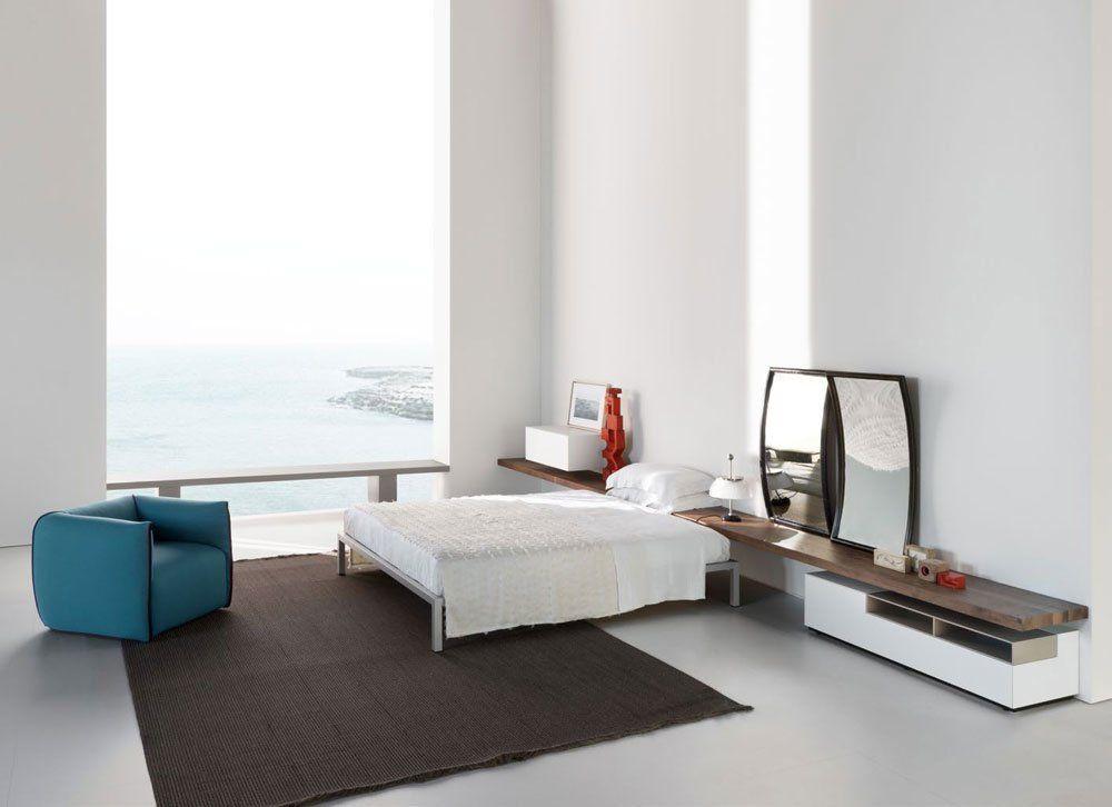 Letto Aluminium Bed