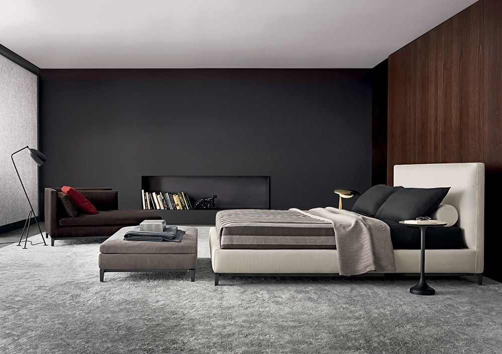 Double Beds Bed Andersen By Minotti
