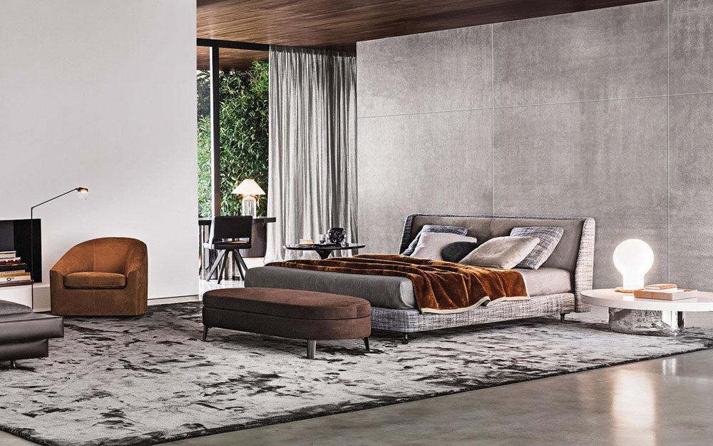 Minotti Doppelbetten Bett Spencer | Designbest