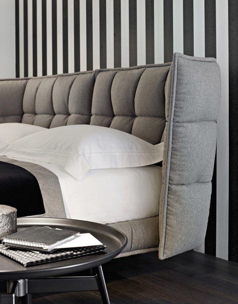 B Amp B Italia Doppelbetten Bett Husk Designbest