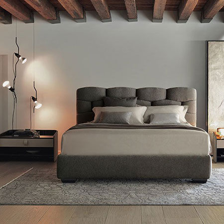 letti matrimoniali flou camera da letto catalogo designbest. Black Bedroom Furniture Sets. Home Design Ideas