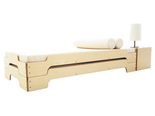 Bed Modular Stapelliege Design Rolf Heide