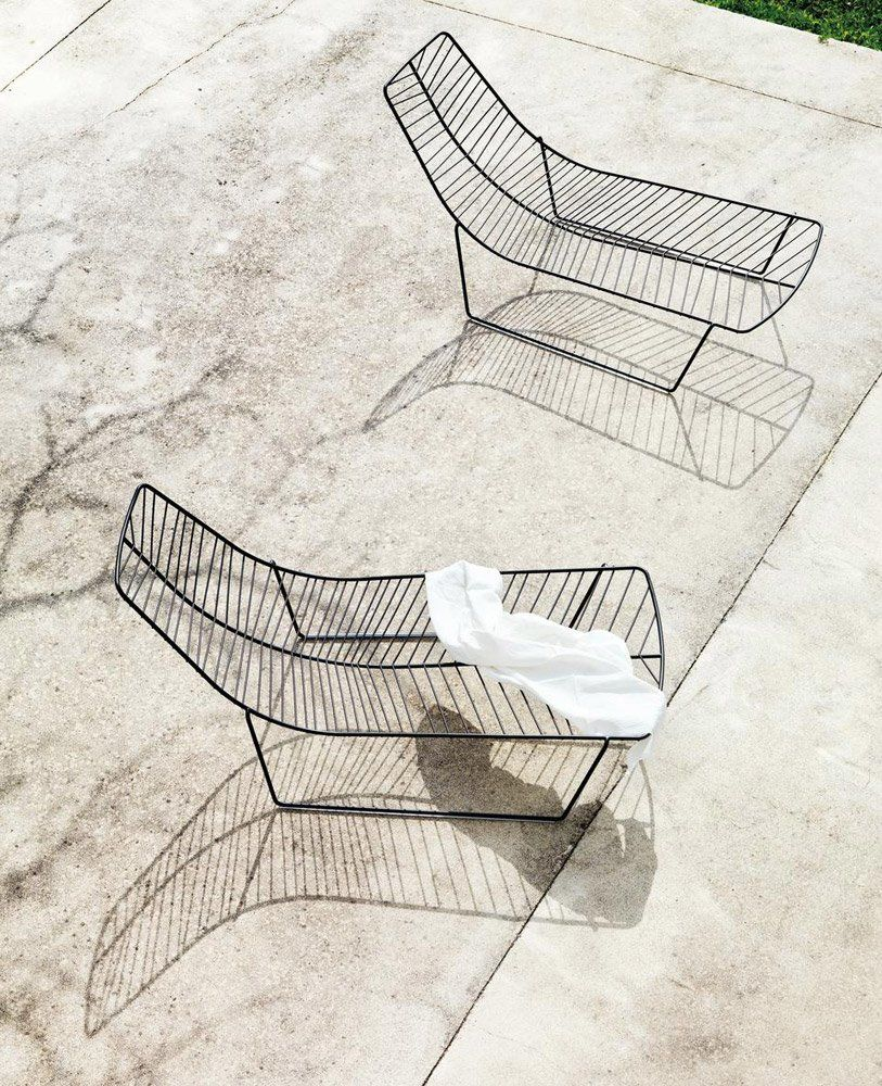 Chaise longue Leaf