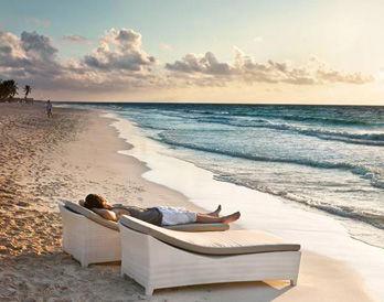 Sun bed Barcelona