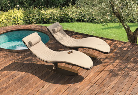 Chaise longue Caribe