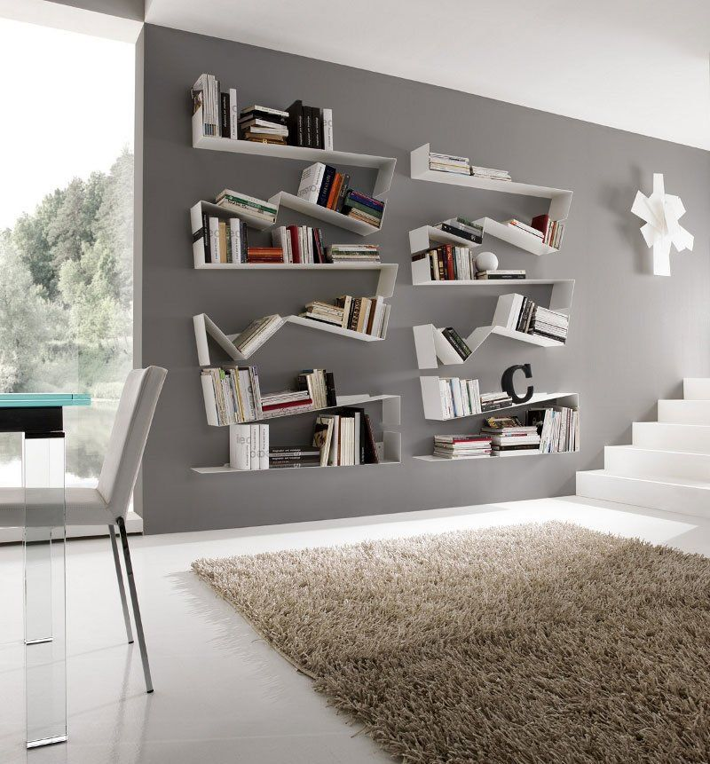 Libreria Zig Zag da Italcomma | Designbest