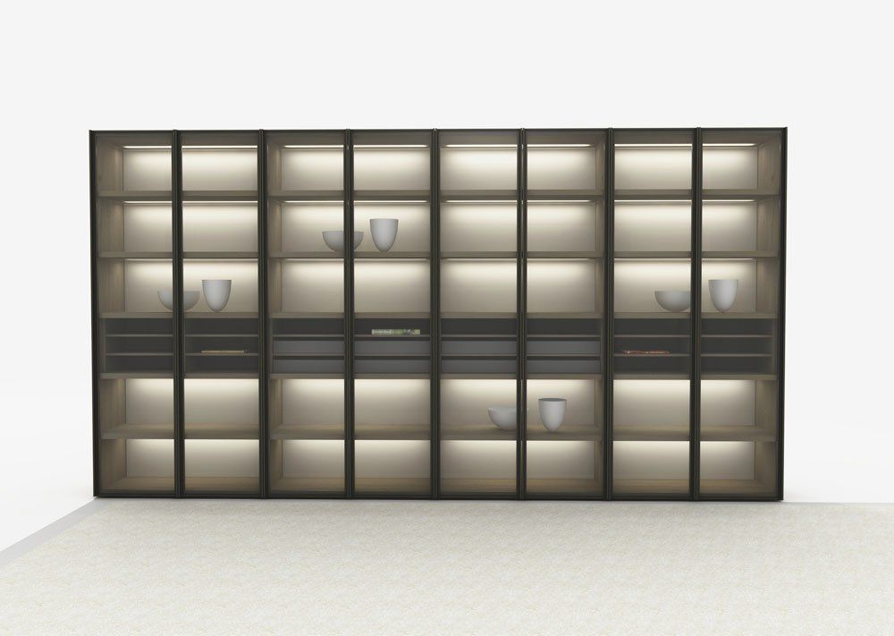 Iron System Scaffali.Bookcase Link System