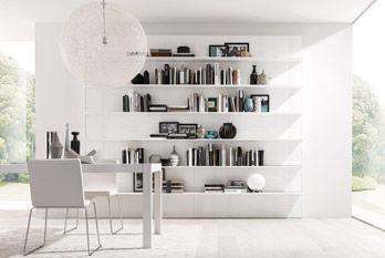 Bookcase Living E45