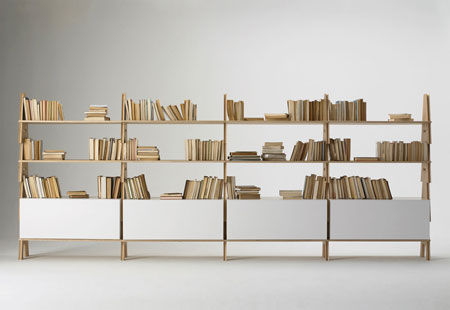 Bookcase Cavalletto