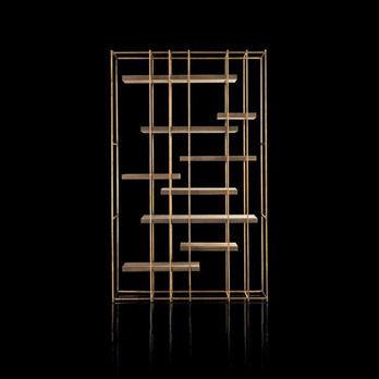 Bibliothèque Cage-B