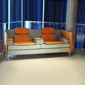 Sofa Felber L14 Sound Duo Low Back Light
