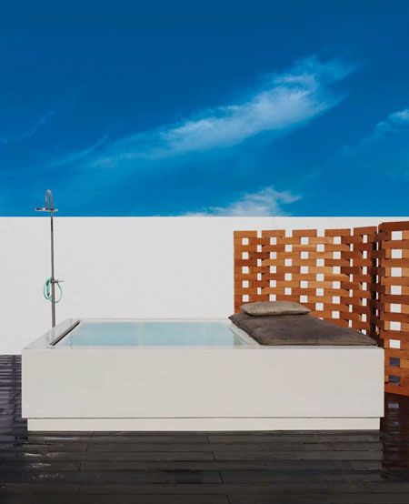 Hot-tub Quadrat Pool Relax