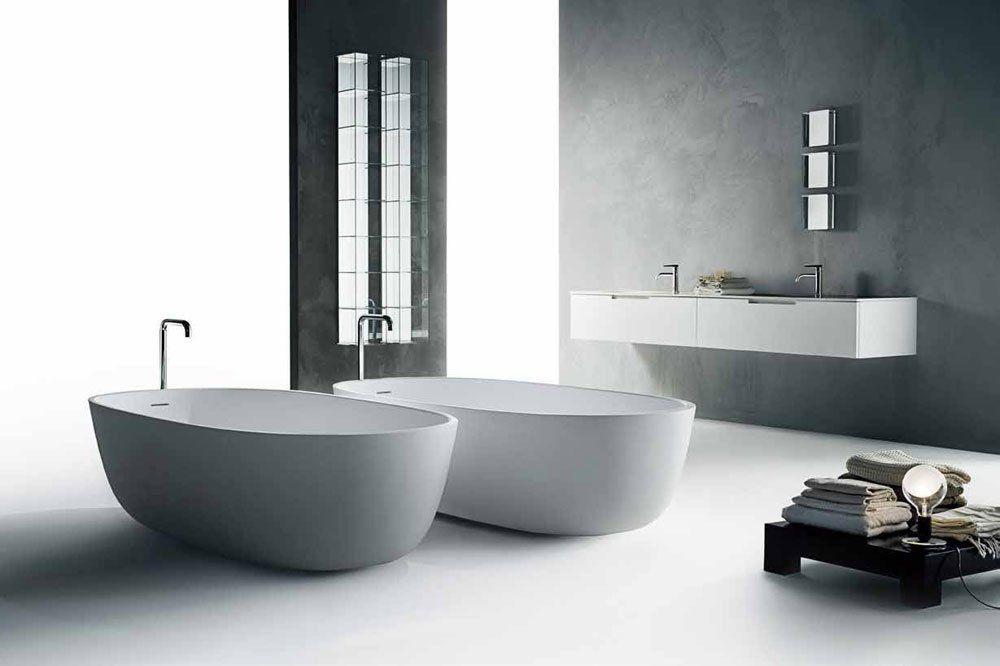 Washbasin Cabinets: Set Duemilaotto by Boffi - Bathrooms