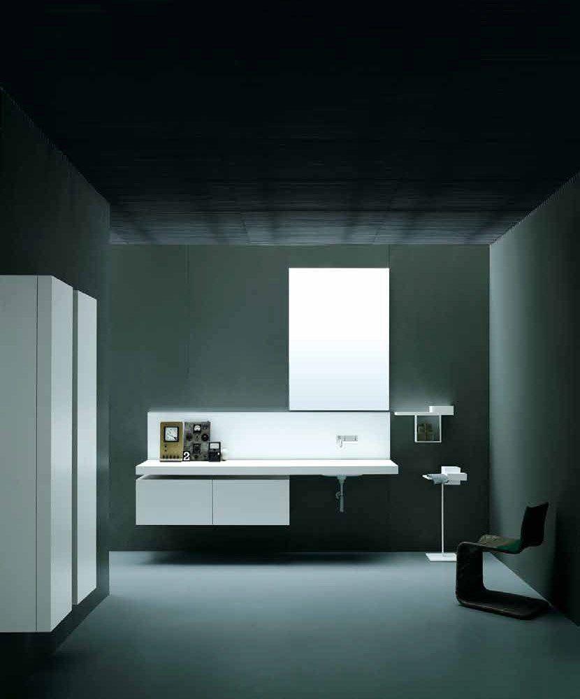 Washbasin Cabinets: Set Pianura by Boffi - Bathrooms