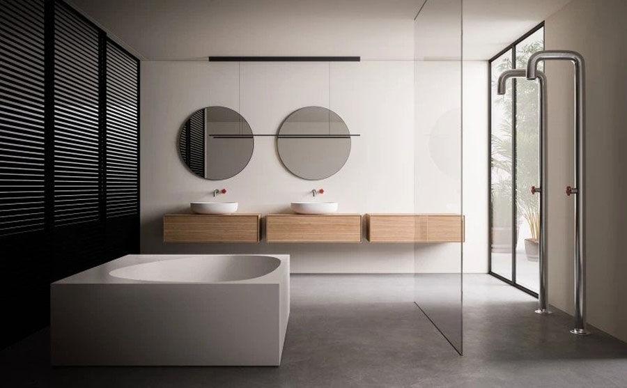 Washbasin Cabinets: Set Flyer by Boffi - Bathrooms