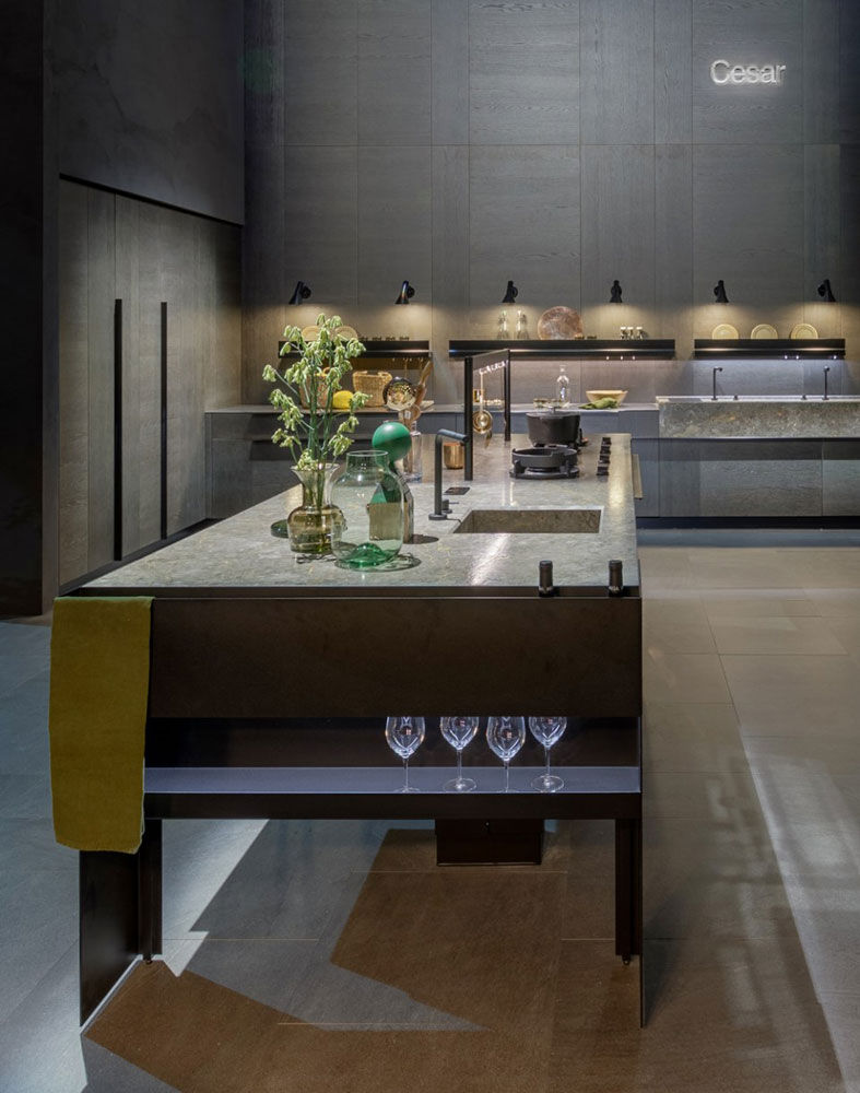 Ama Cucine Firenze cucina williamsburg, intarsio & the 50's