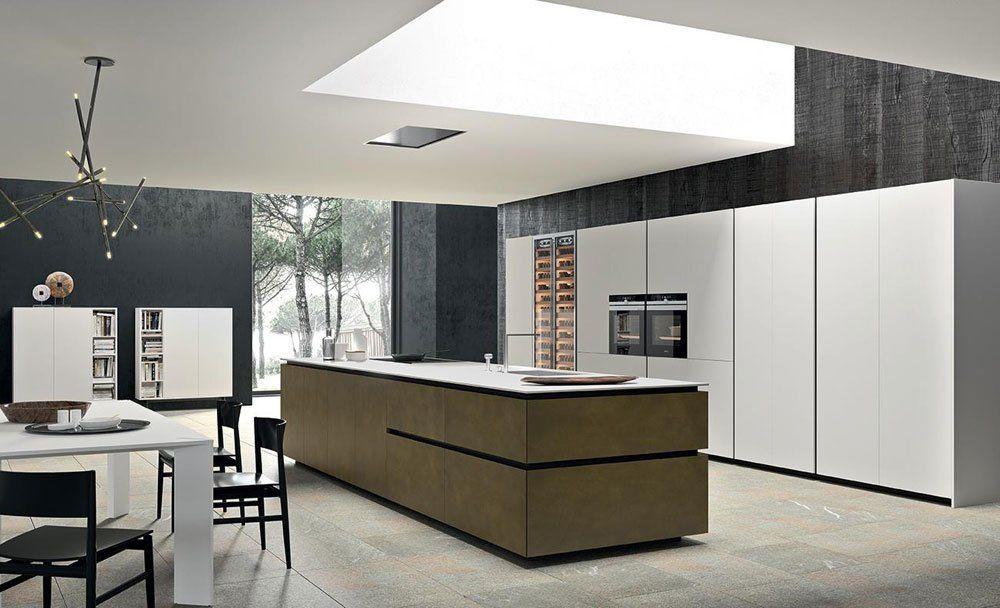 Cucina Filo Isola da Comprex | Designbest