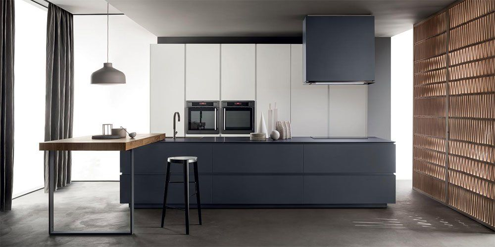 Cucina Obliqua [B] da Ernestomeda | Designbest