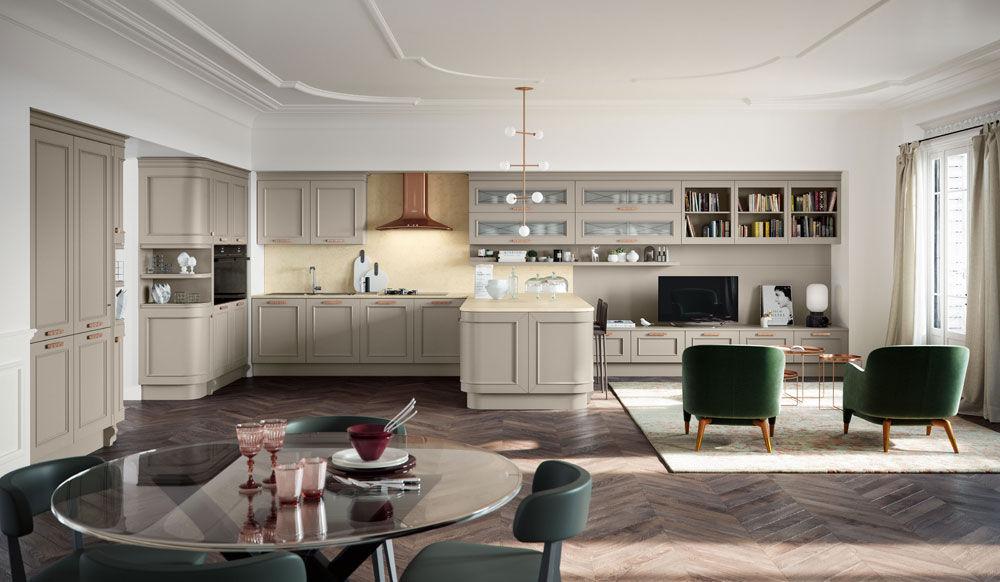 Cucina Romantica [B] da Febal Casa | Designbest
