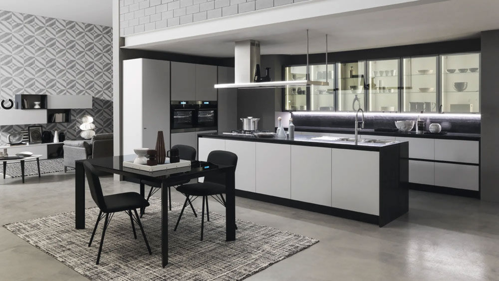 Cucina ice & sand industrial edition [b] da febal casa designbest