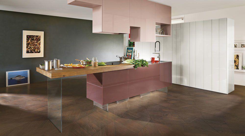 Lago Küchenmöbel Küche 36E8 Wildwood [B] | Designbest