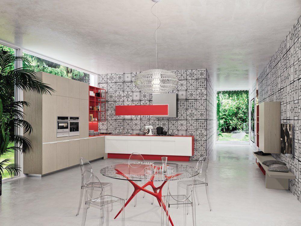 Cucina Orange [C] da Snaidero | Designbest