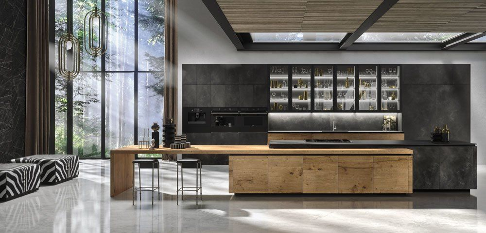 Cucina Way Materia [A] da Snaidero | Designbest