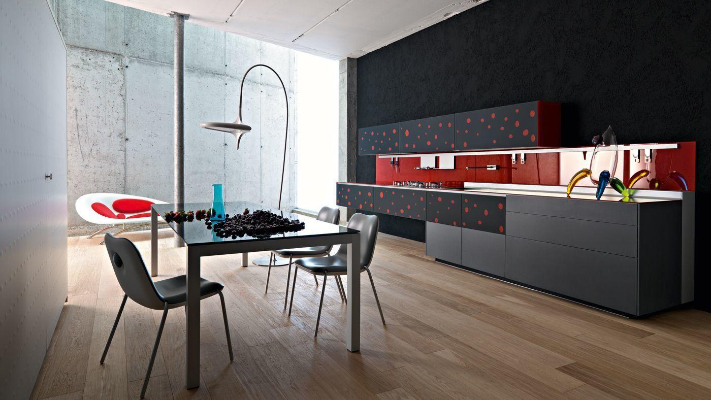 Cucina Artematica Vitrum Arte [A] da Valcucine | Designbest