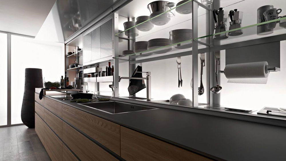Cucina Artematica Olmo Tattile