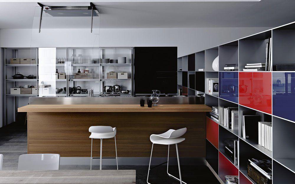Modular Kitchens: Kitchen Artematica Vitrum [C] by Valcucine