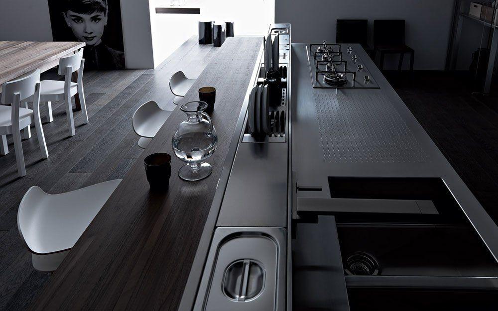 valcucine k chenm bel k che artematica vitrum c designbest. Black Bedroom Furniture Sets. Home Design Ideas