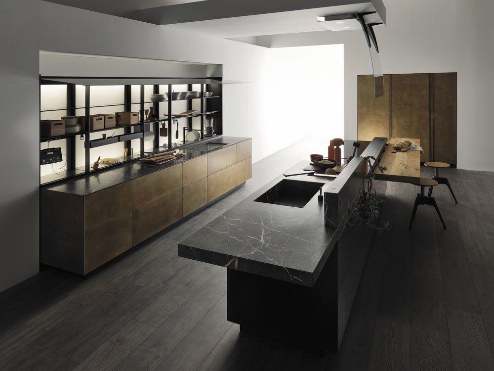 Cucina Artematica Ottone Antico