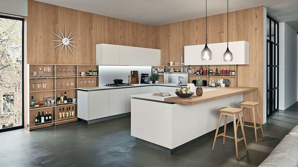Cucina Oyster Pro da Veneta Cucine | Designbest