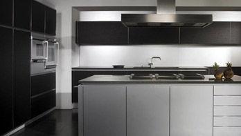 Küche Modern Basalt Aluminium