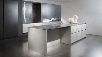 Kitchen Modern Edelstahl Silvertouch