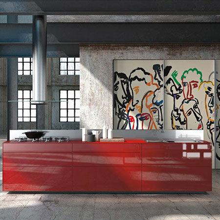 Kitchen Artematica Vitrum Arte [b]