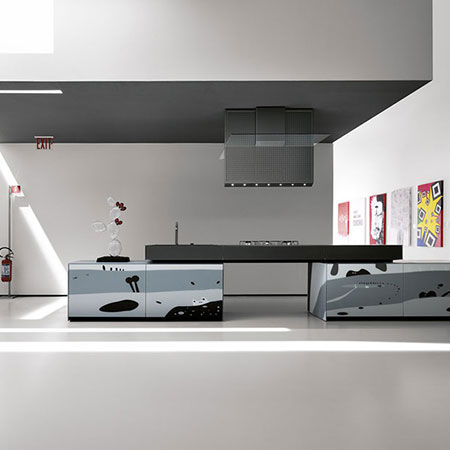 Kitchen Artematica Vitrum Arte Natura