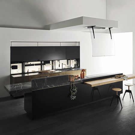 Kitchen Artematica Ottone Antico by Valcucine