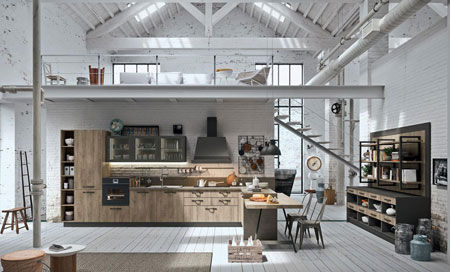Cucina Industrial Kitchen