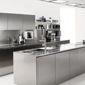 Kitchen Free Steel Multisystem