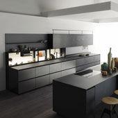 Küche Riciclantica Alluminio Graffiato