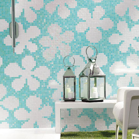Mosaik Glass Flowers