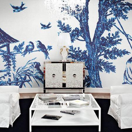 Mosaïque Decorations - Jardin Bleu