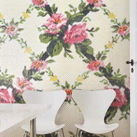 Mosaik Trianon und Petit Trianon