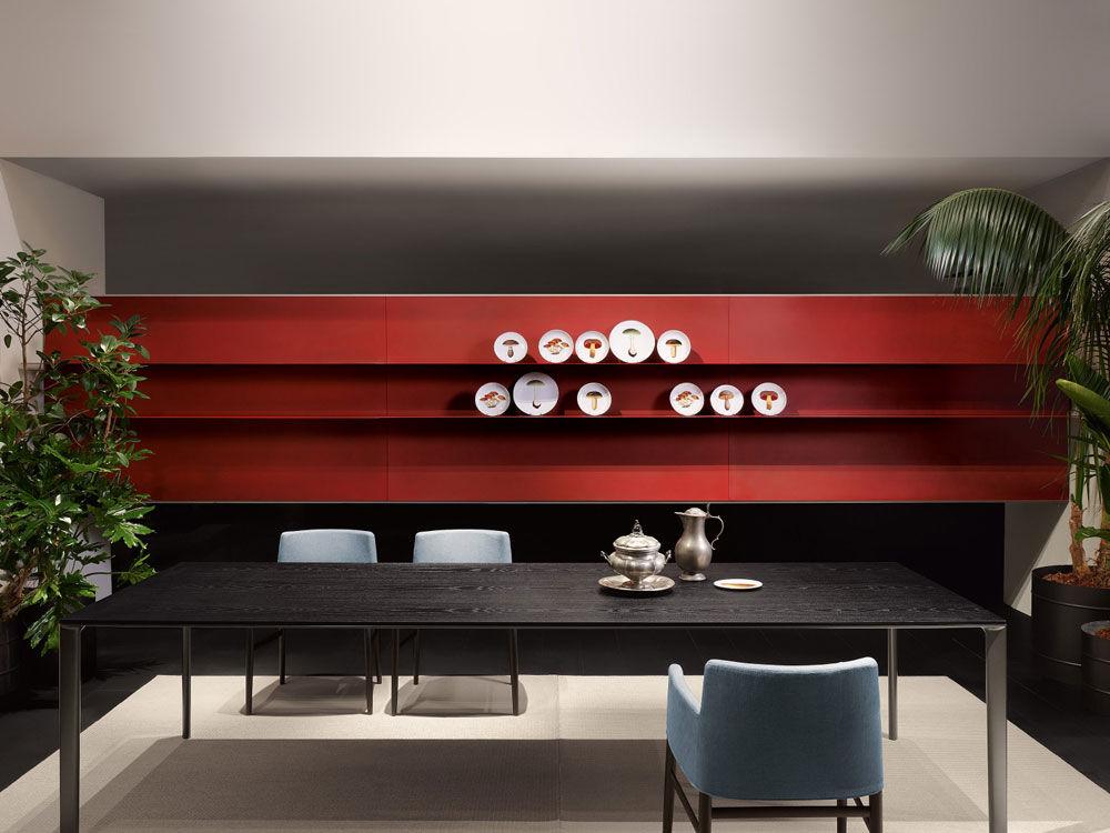 Wohnwande Modern Set : Porro wohnwände wohnwand modern designbest
