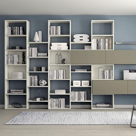 Pareti Attrezzate Moretti Compact Soggiorno catalogo | Designbest