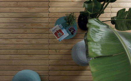 Parquet Biscuit Outdoor